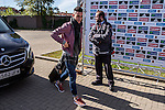 Spainsh Jose Callejon arriving at the concentration of the spanish national football team in the city of football of Las Rozas in Madrid, Spain. November 08, 2016. (ALTERPHOTOS/Rodrigo Jimenez)