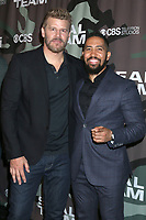 """LOS ANGELES - FEB 25:  David Boreanaz and Neil Brown Jr at the """"Seal Team"""" Screening at the ArcLight Hollywood on February 25, 2020 in Los Angeles, CA"""