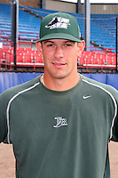 Southwest Michigan Devil Rays Jeff Kamrath poses for a photo before a Midwest League game at C.O. Brown Stadium on July 14, 2006 in Battle Creek, Michigan.  (Mike Janes/Four Seam Images)