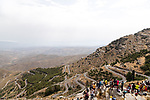 The stunning Alto de Velefique climb during Stage 9 of La Vuelta d'Espana 2021, running 188km from Puerto Lumbreras to Alto de Velefique, Spain. 22nd August 2021.    <br /> Picture: Cxcling   Cyclefile<br /> <br /> All photos usage must carry mandatory copyright credit (© Cyclefile   Cxcling)