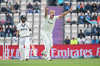 Kyle Jamieson, New Zealand successfully appeals for the wicket of Virat Kohli, India during India vs New Zealand, ICC World Test Championship Final Cricket at The Hampshire Bowl on 20th June 2021