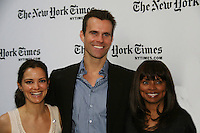 Rebecca Budig - Cameron Mathison - Debbi Morgan - All My Children at 40 celebrate on January 10, 2010 at the New York Times Arts & Leisure Weekend at the TimesCenter Stage, New York City, New York. (Photo by Sue Coflin/Max Photos)