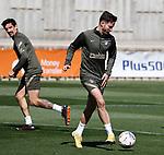 Atletico de Madrid's Saul Niguez during training session. March 20,2021.(ALTERPHOTOS/Atletico de Madrid/Pool)