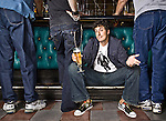 Actor Jason Biggs photographed at the Blue Room in Burbank, California for Draft Magazine