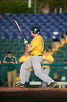 Siena Saints first baseman Joe Drpich (47) at bat during a game against the Pittsburgh Panthers on February 24, 2017 at Historic Dodgertown in Vero Beach, Florida.  Pittsburgh defeated Siena 8-2.  (Mike Janes/Four Seam Images)