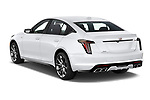 Car pictures of rear three quarter view of 2020 Cadillac CT5-V V-Series 4 Door Sedan Angular Rear