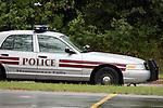 A Menomonee Falls Police Department squad car
