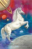 Interlitho, Luis, FANTASY, paintings, unicorn, universe, KL, KL3326,#fantasy# illustrations, pinturas