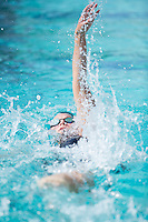 Santa Clara, California - Sunday June 5, 2016: Elise Locke races in the Women's 200 LC Meter IM at the Arena Pro Swim Series at Santa Clara morning session.