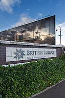 British Sugar head office sign, Oundle Road Peterborogh