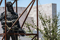Estatua de Venustiano Carranza.
