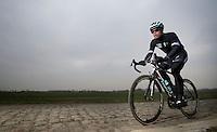 Paris-Roubaix 2013 RECON..Iljo Keisse (BEL)