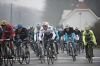 Dwars Door Vlaanderen 2013.Ian Stannard (GBR) in the pack