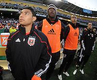 DC United midfielder Christian Castillo (12). The Chicago Fire defeated DC United 2-0 at RFK Stadium, Saturday April 17, 2010.