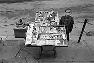 Child street vendors in Istanbul, Turkey - Child labor as seen around the world between 1979 and 1980 – Photographer Jean Pierre Laffont, touched by the suffering of child workers, chronicled their plight in 12 countries over the course of one year.  Laffont was awarded The World Press Award and Madeline Ross Award among many others for his work.