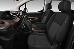 Front seat view of a 2019 Peugeot Rifter GT-Line 5 Door MPV front seat car photos