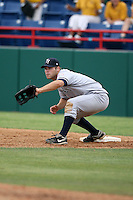 April 15, 2009:  Infielder Mitch Hilligoss of the Tampa Yankees, Florida State League Class-A affiliate of the New York Yankees, during a game at Space Coast Stadium in Viera, FL.  Photo by:  Mike Janes/Four Seam Images