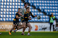 6th February 2021; Ricoh Arena, Coventry, West Midlands, England; English Premiership Rugby, Wasps versus Northampton Saints; Charlie Atkinson of Wasps releases a pass in the dying minutes of the game