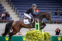 GER-Ingrid Klimke rides Equestros Siena Just Do It during the Jumping for the CCIO4*-S Eventing - SAP Cup. 2021 GER-CHIO Aachen Weltfest des Pferdesports. Aachen, Germany. Friday 17 September. Copyright Photo: Libby Law Photography