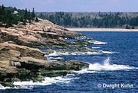 ON01-008z  Acadia National Park, Maine - ocean and rocky coast