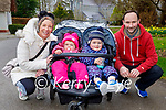 Enjoying a stroll in the Killarney National park on Sunday, l to r: Catherine, Ruby, Ross and Martin O'Shea.