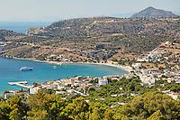 Agia Marina in Aegina island, Greece