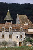 Europe/France/Midi-Pyrénées/46/Lot/Vallée du Célé/Espagnac-Sainte-Eulalie: Eglise Notre-Dame