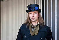 Andy Van Orverberghe, Steampunk Steamposium 2017, Seattle, WA, USA.