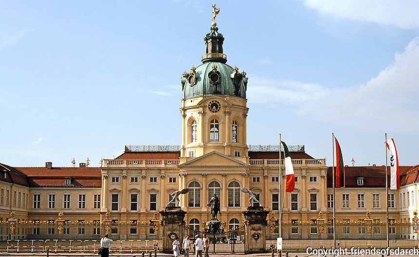 Berlin: Charlottenburg Palace, 1695-1710. Originally a country residence of the Hohenzollerns.