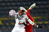 DORTMUND, GERMANY - NOVEMBER 24 :  Youssouph Badji  forward of Club Brugge during the UEFA Champions League Group stage - group F, 2nd leg match between Borussia Dortmund and Club Brugge at the Signal Iduna Park stadium on November 24, 2020 in Dortmund, Germany, 24/11/2020 ( Photo by Jimmy Bolcina / Photo News<br /> Borussia Dortmund - Club Brugge <br /> Champions League 2020/2021<br /> Photo Photonews / Panoramic / Insidefoto <br /> Italy Only