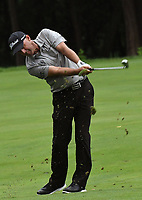 11th July 2021, Silvis, IL, USA;  Cameron Percy hits his second shot on the #6 fairway during the final round of the John Deere Classic on July 11, 2021, at TPC Deere Run, Silvis, IL.