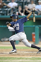 Ozzie Martinez - New Orleans Zephyrs - 2011 Pacific Coast League.Photo by Bill Mitchell