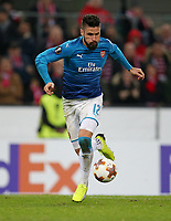 23.11.2017, Football UEFA Europa League 2017/2018,  Group Stage, 5.Match Day, 1. FC Koeln - FC Arsenal, im RheinEnergieStadion Koeln. Olivier Giroud (FC Arsenal)  *** Local Caption *** © pixathlon +++ tel. +49 - (040) - 22 63 02 60 - mail: info@pixathlon.de<br /> <br /> +++ NED + SUI out !!! +++