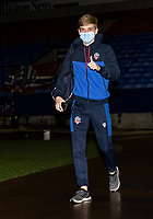 Bolton Wanderers' Ronan Darcy arriving at the stadium <br /> <br /> Photographer Andrew Kearns/CameraSport<br /> <br /> EFL Papa John's Trophy - Northern Section - Group C - Bolton Wanderers v Newcastle United U21 - Tuesday 17th November 2020 - University of Bolton Stadium - Bolton<br />  <br /> World Copyright © 2020 CameraSport. All rights reserved. 43 Linden Ave. Countesthorpe. Leicester. England. LE8 5PG - Tel: +44 (0) 116 277 4147 - admin@camerasport.com - www.camerasport.com