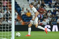 Real Madrid's Gareth Bale during the XXXVII Bernabeu trophy between Real Madrid and Stade de Reims at the Santiago Bernabeu Stadium. August 15, 2016. (ALTERPHOTOS/Rodrigo Jimenez) /NORTEPHOTO