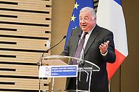 GÈrard Larcher - ASSEMBLEE DES DEPARTEMENTS DE FRANCE AVEC LES CANDIDATS A L'ELECTION PRESIDENTIELLE
