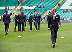 St Johnstone v Dundee United....17.05.14   William Hill Scottish Cup Final<br /> Frazer Wright on the pitch at Celtic Park ahead of kick off<br /> Picture by Graeme Hart.<br /> Copyright Perthshire Picture Agency<br /> Tel: 01738 623350  Mobile: 07990 594431