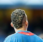 Arnold Peralta's haircut
