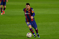 13th February 2021; Camp Nou, Barcelona, Catalonia, Spain; La Liga Football, Barcelona versus Deportivo Alaves; Leo Messi FC Barcelona forward