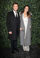 Ben and Elle Caring<br /> at the 2017 Charles Finch & CHANEL Pre-Bafta Party held at Anabels, London.<br /> <br /> <br /> ©Ash Knotek  D3227  11/02/2017