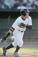 August 11, 2009: Hilton Richardson of the Idaho Falls Chukars. The Chukars are the Pioneer League affiliate for the Kansas City Royals. Photo by: Chris Proctor/Four Seam Images