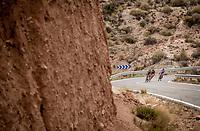 breakaway group<br /> <br /> Stage 3: Ibi. Ciudad del Juguete to Alicante (188km)<br /> La Vuelta 2019<br /> <br /> ©kramon