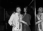 CRISTIANO MALGIOGLIO CON ROSANNA FRATELLO<br /> FESTA CRISTIANO MALGIOGLIO - OPEN GATE  ROMA 1981