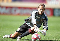 Mexico's Pamela Tajonar stops a shot. .USA 3-0 over Mexico in San Diego, California, Sunday, March 28, 2010.