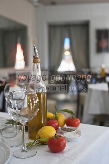 Europe/France/Provence-Alpes-Côte d'Azur/06/Alpes-Maritimes/Nice: restaurant: La Petite Maison- détail de la salle