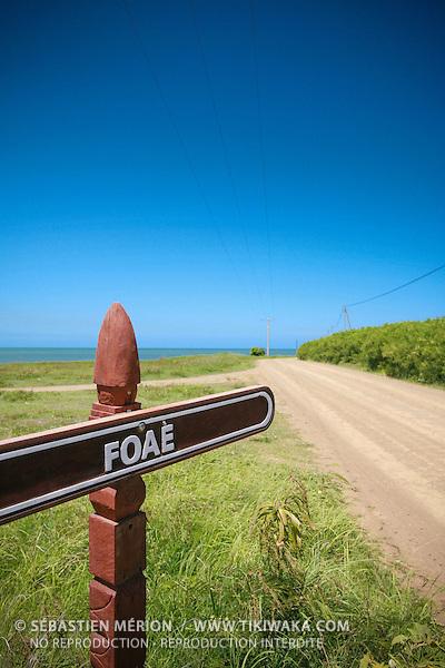 Presqu'île de Foué, premier site Lapita, entre Pouembout et Koné, Nouvelle-Calédonie