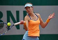Paris, France, 29 June, 2016, Tennis, Roland Garros, Galina Voskoboeva (KAZ)<br /> Photo: Henk Koster/tennisimages.com