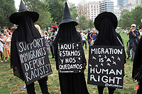 Rally to support DACA and stop deportations in Boston MA 9.16.17