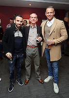 Pictured: Leon Britton (L) and Lee Trundle (R)<br /> Re: Swansea City FC Christmas party at the Liberty Stadium, south Wales, UK.