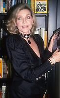 Lauren Bacall 1989<br /> Photo By Adam Scull/PHOTOlink.net
